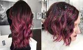 43 Burgundy Hair Shade Ideen und Sorten für 2019 # Frisuren – Frisuren Ideen …, #Burgun … # Burgund #Burgund #Haar #Frisuren
