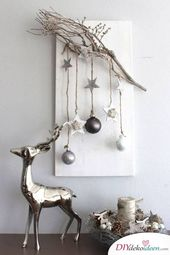 Scandinavian DIY Christmas decorations and craft ideas for Christmas
