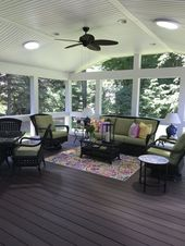 ✔ 59 screened in porch ideas with stunning design concept 24