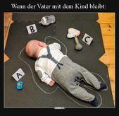 Wenn der Vater mit dem Kind bleibt.. – Quarks