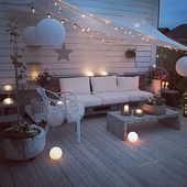 Cozy Terraces: Great Ideas with No Costs and Big Investments