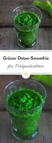 Detox Smoothie: Gut für Ihren Körper aus dem Glas   – Smoothielicous