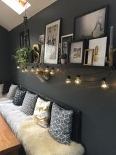 A Dark and Moody Home in England