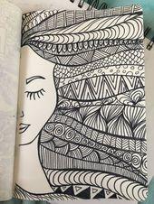 Herrliche verschiedene Bleistift-Zeichnungs-Zeichnungen – schöne Wörter #Bleis
