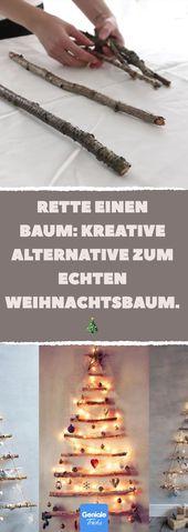 Die schönste Weihnachtsdekoration des Jahres besteht aus Stöcken. Ich kann immer noch nicht …   – Weihnachten – DIY Baumschmuck, Deko und Geschenke