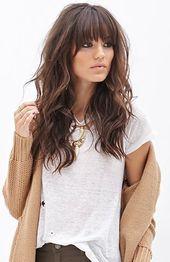 40 Bangs Frisuren, die Sie brauchen, um Ideen auszuprobieren 8 – Samantha Fashion Life