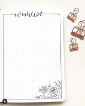 eight collections utiles à avoir dans son Bullet Journal