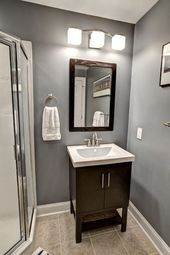 Basement Bathroom Ideas On Budget Low Ceiling And For Small Space Check It Out Tags B Small Basement Bathroom Basement Bathroom Remodeling Small Bathroom