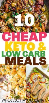 20 BEST Cheap Keto Meals – Whole Lotta Yum