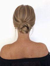 Hochsteckfrisuren Frisur Modelle #Hochsteckfrisuren #HochsteckfrisurenFrisur  Die Nackenmodelle sind eine stilvolle und elegante Art auszusehen! Eine …