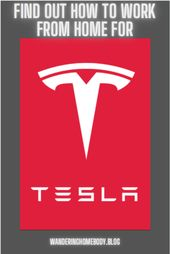 Dream Job Alert Work At Home For Tesla Working From Home Job Dream Job