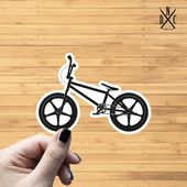Bmx Bike Vinyl Sticker, Best Friend Gift, Laptop Decals, Fitness Stickers, Decal, Macbook Decal, Sti