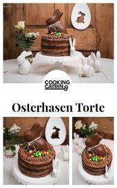 osterhasen torte, easter bunny cake, easter bunny, osterhase, schokoladentorte, …