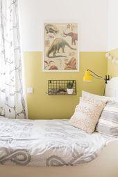 Neue Wandfarbe im Jungszimmer  – Bedroom