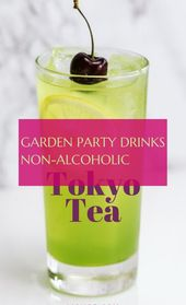 garden party drinks alcohol-free – #garden #party #drinks #nonalcoholic   – Getranke