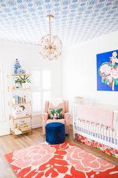 Bright, Mixed-Pattern Girl Nursery   – Best of Project Nursery