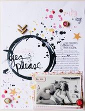 #papercraft #Scrapbook #layout Vacation_ Ja, bitte! von lory bei @Studio_Calic …