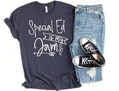 Particular Schooling Trainer Shirts – Instructing is My Jam Shirt – Sped Trainer Shirt – Particular Ed Trainer Appreciation Items