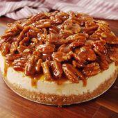 Sie wissen noch nicht, welches Dessert Sie für die Feiertage zubereiten sollen? Pecan Pie Cheesecake # …