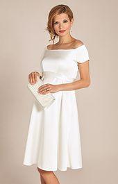 Aria Moderskapsklänning Elfenben – Bröllopsklänningar för mammor, kvällskläder och festkläder av Tiffany Rose