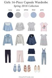 Women 16-Piece Capsule Wardrobe – Spring 2018 Assortment