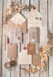Invitations  wedding invitations rustic / country / shabby chick 01/rusg/z