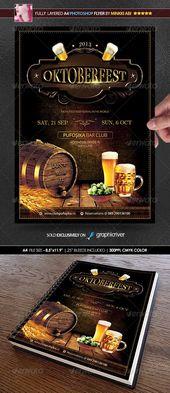 #herbstveranstaltung #oktoberfest #deutsches #poster #flyer