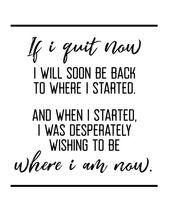 Wenn ich jetzt aufhöre, motivierend Zitat, Crossfit, Training, Training, Triath…
