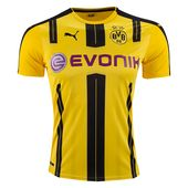 fe6054e8d8 Camisa Borussia Dortmund Third 17 18 - Torcedor Puma Masculina - Amarelo e  Preto