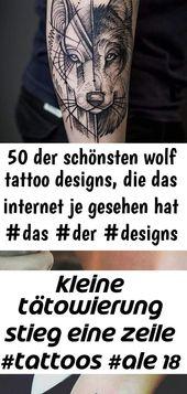 50 der schönsten wolf tattoo designs, die das internet je gesehen hat #das #der #designs #di… 19