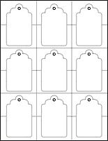 Large gift tag pattern use the printable outline for crafts tag template word and pdf formats available free printable negle Gallery