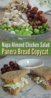 Napa-Mandel-Hähnchen-Salat (Panera Copycat   – salate – #Copycat #NapaMandelHä… – salat