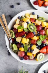 Summer Fruit Salad – Joyful Healthy Eats Recipes – #Eats #Healthy #Joyful #Recip…