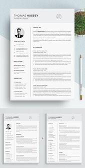 Illustrator Resume 35 Best Minimal CV Resume Templates
