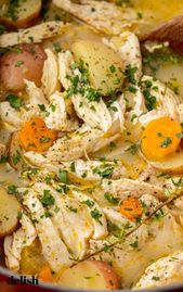 This Chicken Stew has all of the comfort and none of the work. Get the recipe at… – Cooking Tips