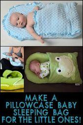 Baby Blanket Dieser Kissenbezug-Babyschlafsack ist eine tolle Geschenkidee für Mütter oder ...