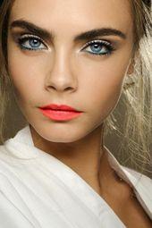 Effektives Make-up für blaue Augen – tolle Make-up-Tipps   – Cd
