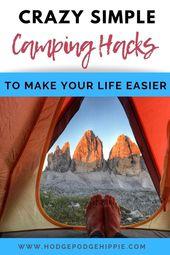 10 campinghackar som är ett MÅSTE!