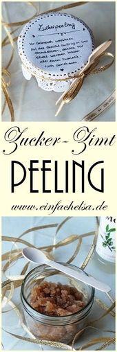 {DIY} Zucker-Zimt-Peeling zum verschenken#colorful #photooftheday #cute #pic…
