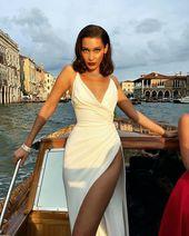 10 Einzigartige schöne Frisuren von Bella Hadid | Trend Bob Frisuren 2019