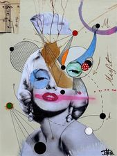 Marilyn For The Abstract Thinker By Loui Jover Jover