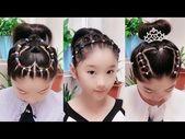 22 Easy Braid Hair For Little Girls 😱 Kids Braid Hairstyles Tutorial 😍 Bea…,  #bea #Braid #…