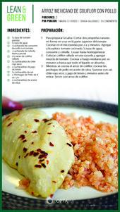 Mexican Cauliflower Rice with Chicken