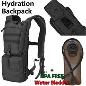 Reebow Tactical Outdoor Hydration Backpack With 2 5l Bpa Free