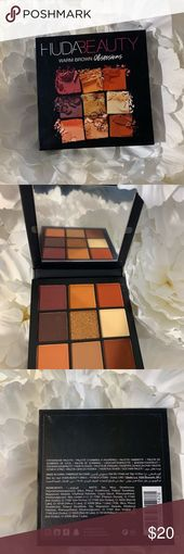 Huda Beauty Mini Palette in warm brown New without packaging. Canyon … #beauty…