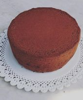 Photo of Gluten-free cocoa sponge cake