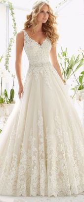 Backless Attractive Classic Marriage ceremony Gown