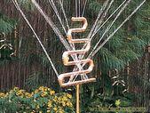 Dekorativer Kupfer-Sprinkler   – decor