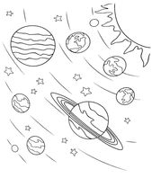 Space Coloring Pages – Best Coloring Pages For Kids