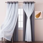 Blackout Curtain Panels For Livng Room Pony Dance Top Rated Window Covering Drapes Grommet Top Mix Match Curta Curtains Living Room Curtains Blackout Curtains